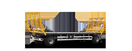 Platforme transport baloti de paie