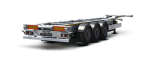 Semiremorca transport container