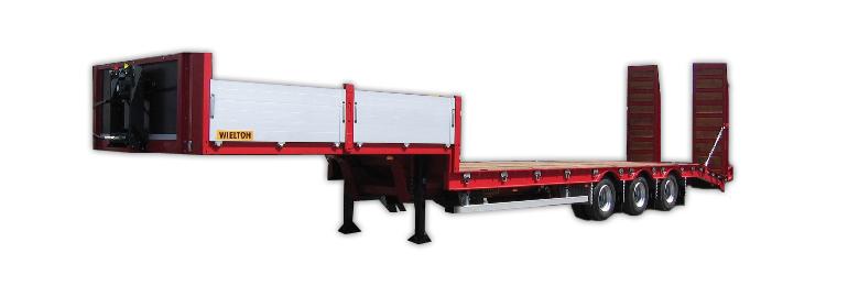Poluprikolice za prevoz radnih mašina (labudice)